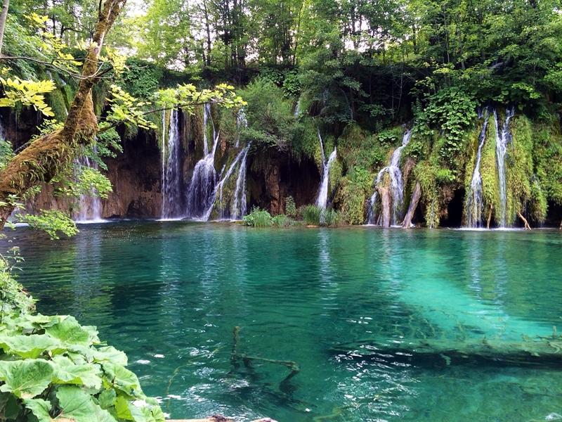 Plitvicei tavak Horvátország