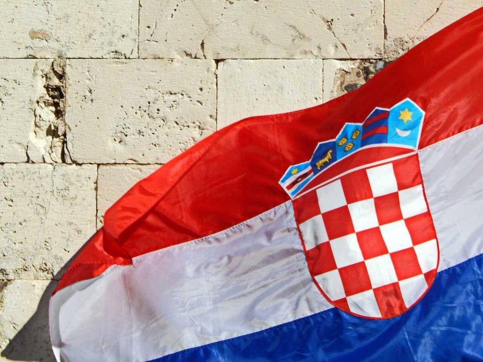 horvát zászló