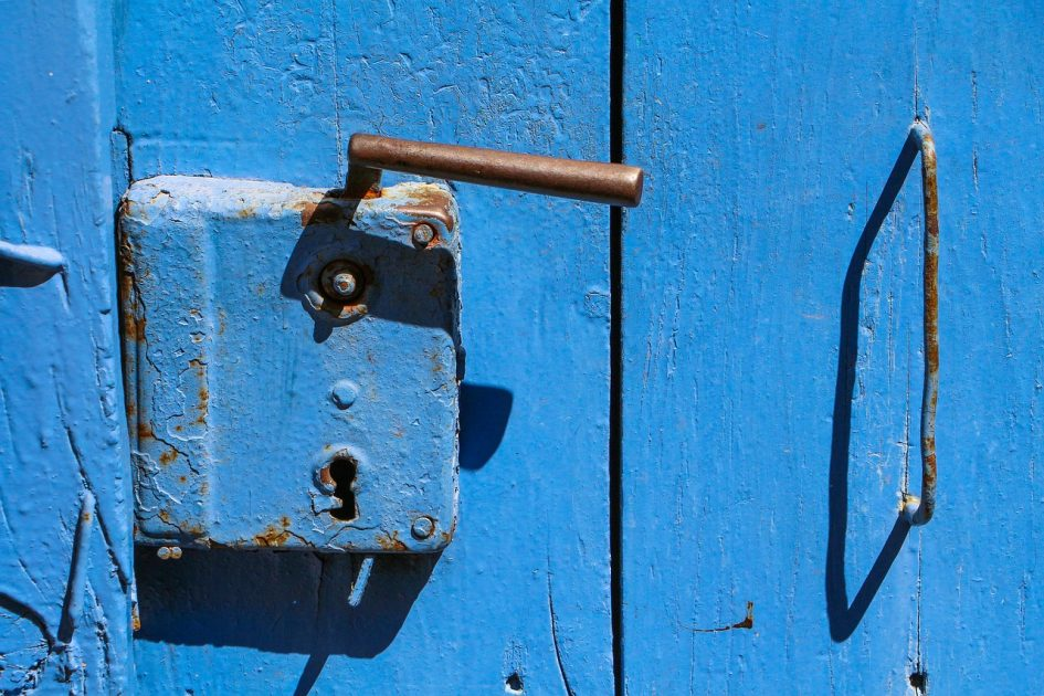 horvátországi ajtó